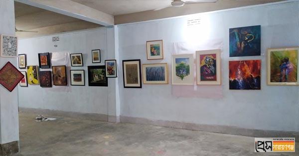 শুক্রবার না'গঞ্জ চারুকলা ইনস্টিটিউটের রজত জয়ন্তী