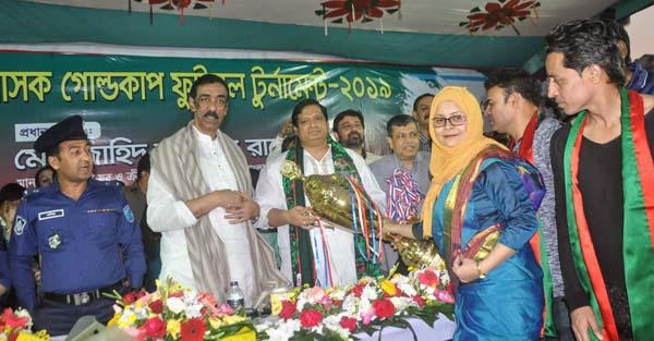 ডিসি গোল্ডকাপ টুর্নামেন্টে চ্যাম্পিয়ন বন্দর উপজেলা