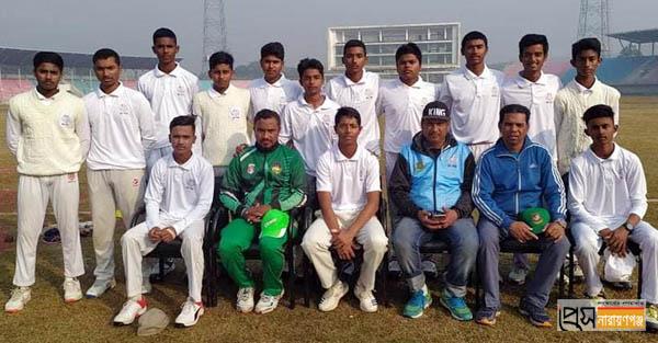 অনূর্ধ্ব-১৬ জাতীয় ক্রিকেটে ঢাকা সাউথ জোনের ফাইনালে নারায়ণগঞ্জ