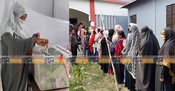 দাউদপুর নির্বাচন: এজেন্ট বের করে দেয়ার অভিযোগ স্বতন্ত্র প্রার্থীর
