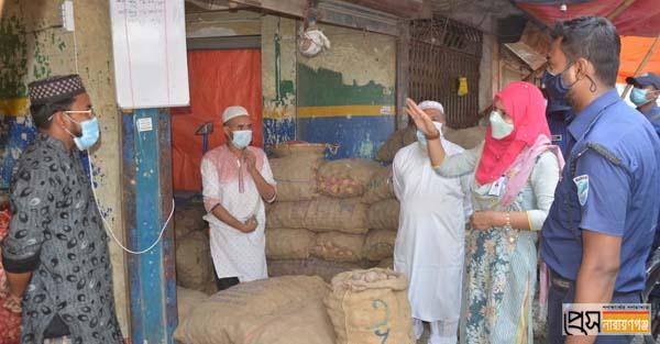লকডাউন বাস্তবায়নে জেলা প্রশাসনের অভিযান অব্যাহত