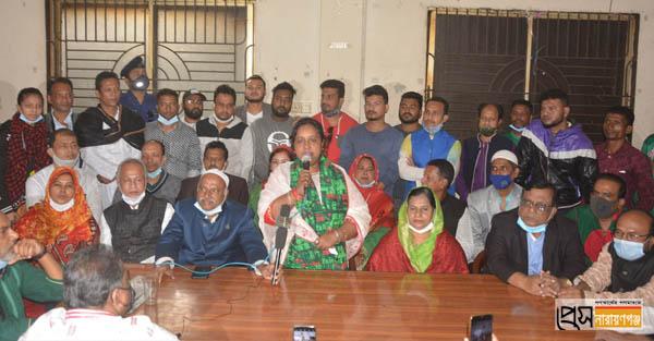 নারায়ণগঞ্জ কারো বাপের নয়: আইভী