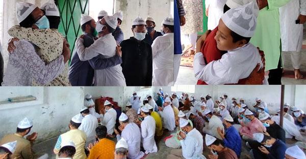 সৌদি আরবের সঙ্গে মিল রেখে ফতুল্লায় ঈদ উদযাপন