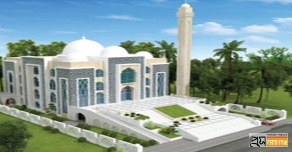 বাধার মুখে মুজিববর্ষে নির্মিতব্য মডেল মসজিদের নির্মাণকাজ