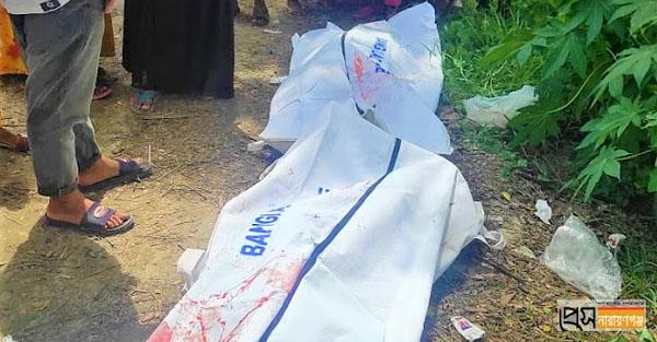 সোনারগাঁয়ে সড়ক দুর্ঘটনায় ২ নারী নিহত