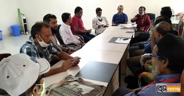 নারায়ণগঞ্জ কবিতা পরিষদের সাহিত্য আড্ডা অনুষ্ঠিত
